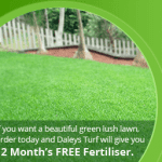Free Fertiliser for 12 months